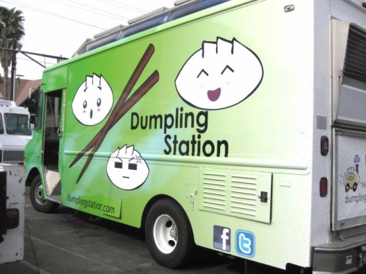 dumpling station truck los angeles