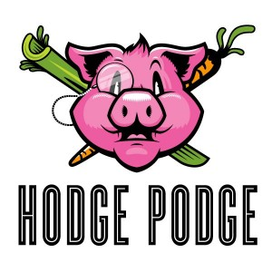 hodge podge food truck logo