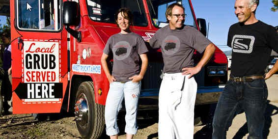 red truck truckee, ca